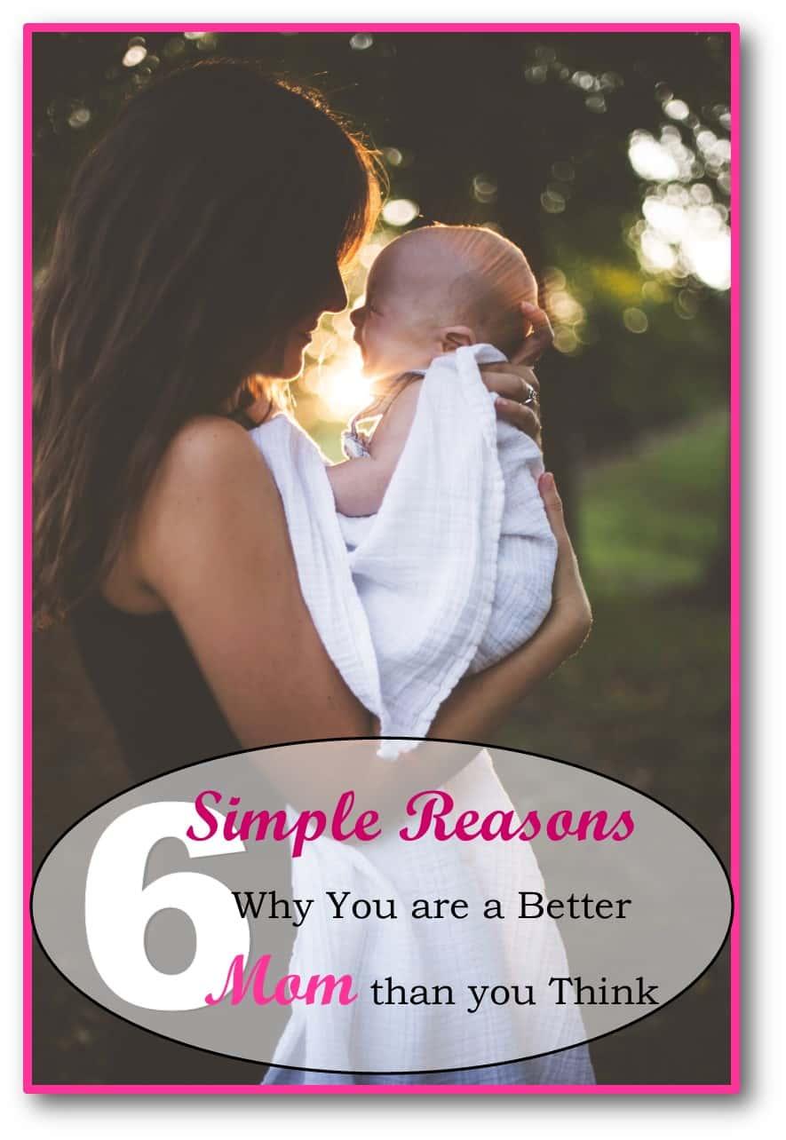 Motherhood, being a better mom, Parenting