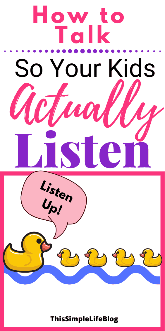 How to talk so your kids want to listen 1