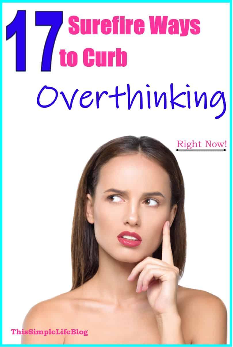 Stop overthinking, mom