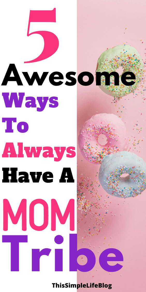 How to make the best mom friends