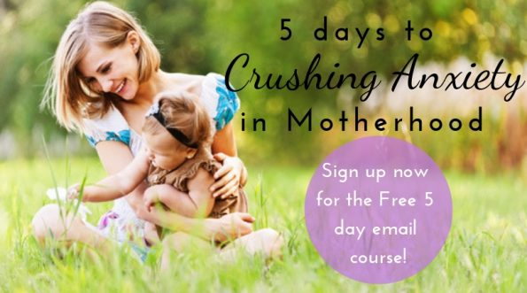 5 days to crushing anxiety email course