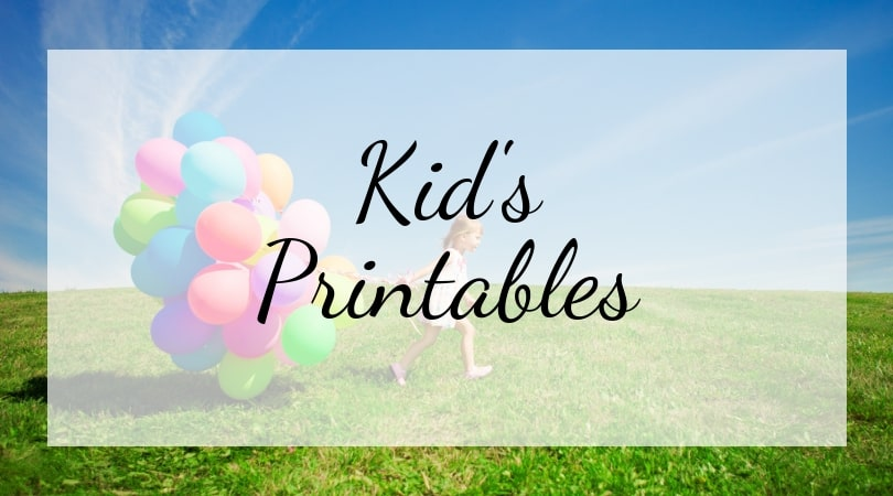 Kid's Printables Cover