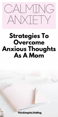 How to live with anxiety and still be a great mom