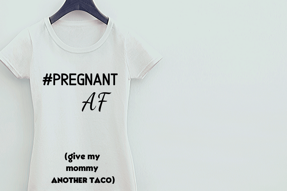The Funniest Pregnancy Announcement Shirts Out There