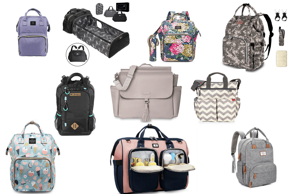 The Best Diaper Bags For Mom & Baby!