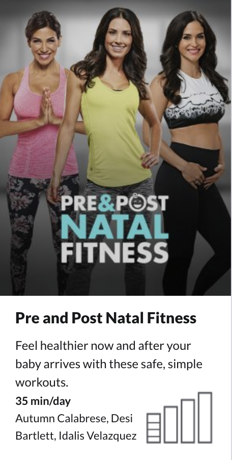 BeachBody On Demand Pre and Post Natal Fitness