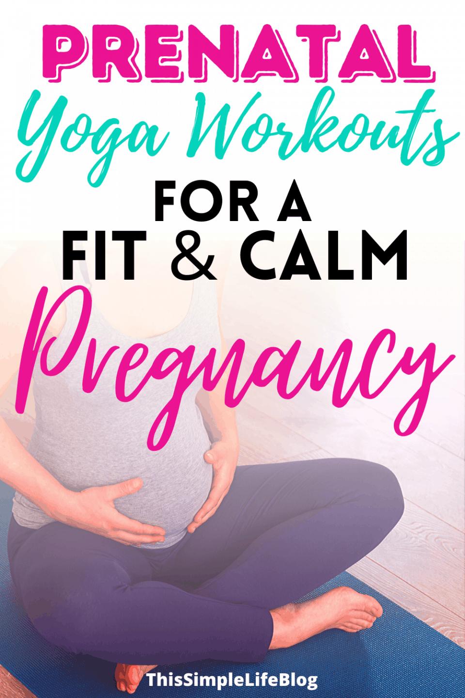 The best prenatal yoga blog post header