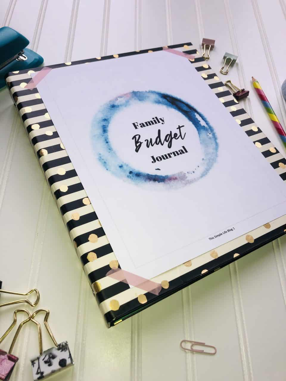 Family Budget Journal
