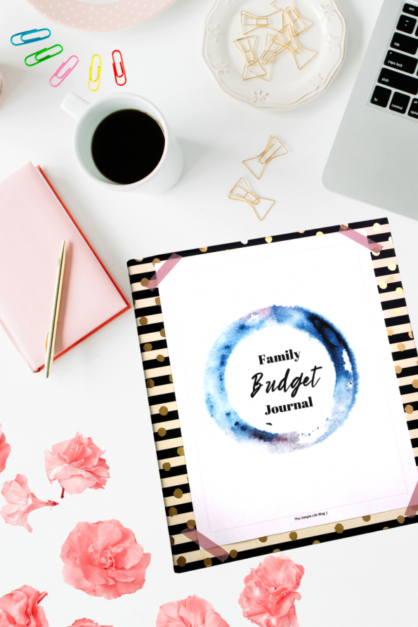 Family Budget Journal Photo